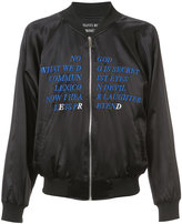 Enfants Riches Deprimes Germs bomber jacket - men - Silk/Acrylic - M