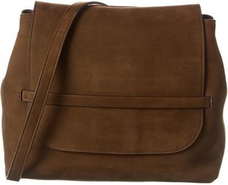 The Row Sidekick Suede Shoulder Bag