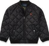 Ralph Lauren 2-7 Quilted Baseball Jacket
