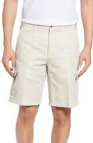 Peter Millar Men's Coastal Linen Blend Cargo Shorts
