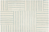 Canyon Stripe Patch Rug - Ralph Lauren Home - sky