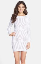 Dress the Population Women's Lola Sequin Body-Con Dress