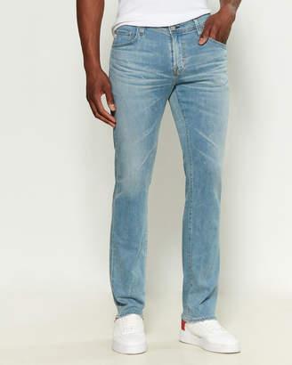 AG Adriano Goldschmied Matchbox Slim Straight Leg Jeans