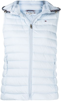 Padded Zip-Up Down Gilet
