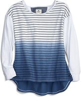 Sperry Dip Dye Striped T-Shirt