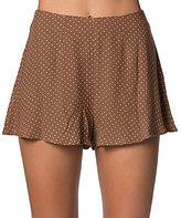 O'Neill Chloe Polka-Dot High Waist Soft Shorts
