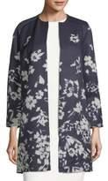 Lafayette 148 New York Makeda Floral-Print Jacket