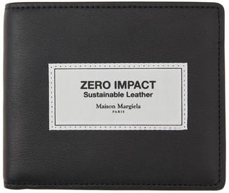 Maison Margiela Black Zero Impact Leather Wallet