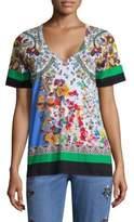 Etro Garden Paisley T-Shirt
