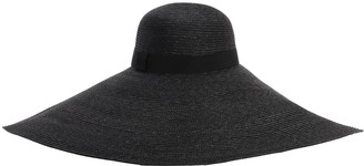 Ermanno Scervino Wide Brim Straw Hat