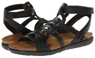 Naot Footwear Sara (Black Raven Leather) Women's Shoes