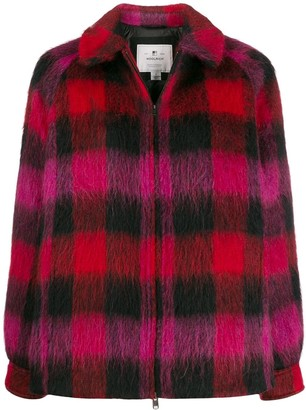 Woolrich Check Pattern Short Jacket