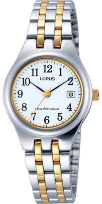 Lorus Rh787Ax-9 Full Figure Two Tone Daywear Watch