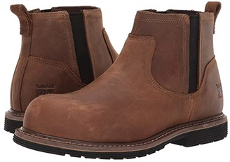 Timberland Millworks Chelsea Composite Safety Toe (Brown Gaucho) Men's Work Boots