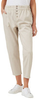 French Connection Relaxed Cotton Stretch Pant