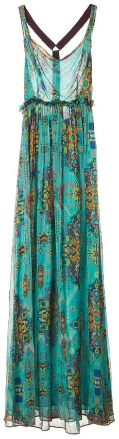 Matthew Williamson Green Silk Dresses