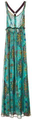 Matthew Williamson Green Silk Dresses