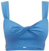 Marysia Swim Lehi Twist-front Bikini Top - Womens - Blue