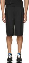 Givenchy Black Pleated Shorts