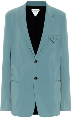 Bottega Veneta Stretch-nylon canvas blazer