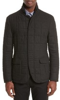 Armani Collezioni Men's Quilted Field Jacket