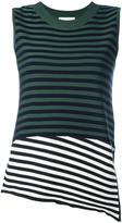 Christian Wijnants 'Kaife' striped tank - women - Polyester/Viscose/Virgin Wool - XS