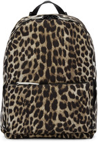 3.1 Phillip Lim Beige Leopard Hour Backpack