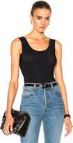 Maison Margiela Technical Stretch Jersey Sleeveless Bodysuit