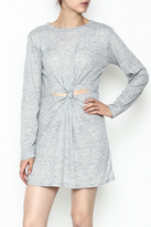 Honey Punch Long Sleeve Thermal Dress