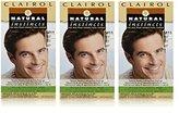 Clairol Natural Instincts Hair Color For Men M11 Medium Brown 1 Kit (Pack of 3)