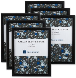 """Trademark Global 6-Pc. 11"""" x 14"""" Picture Frame Wall Gallery Set"""