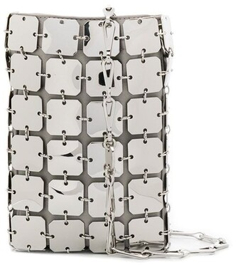 Paco Rabanne Metallic Metal Crossbody Bag