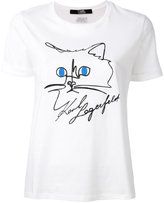 Karl Lagerfeld D1 T-shirt - women - Cotton - XL