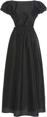 Sir. Valetta Silk Taffeta Maxi Dress