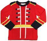 Stella McCartney Military Cotton & Cashmere Sweater