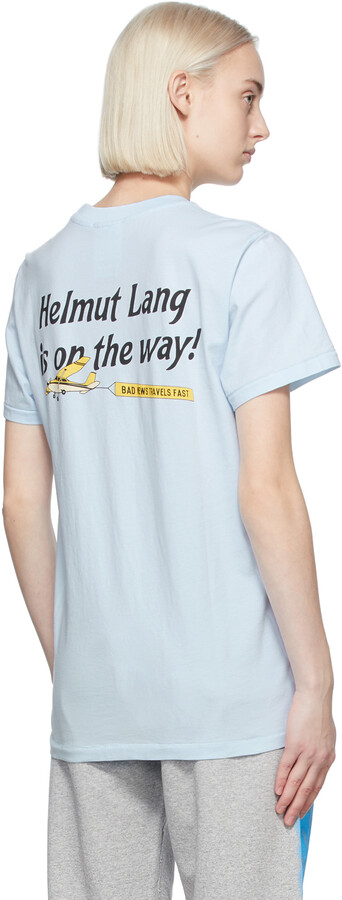Thumbnail for your product : Helmut Lang Blue Saintwoods Edition 'Heads Up' T-Shirt