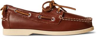 Ralph Lauren Merton Leather Boat Shoe