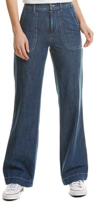 A.P.C. Seaside Indigo Delave Wide Leg Jean