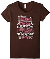 Special Tee Women's He Is My Bestfriend I Cant Wait To Be His Wife T-Shirt Large