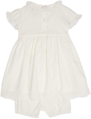 Rachel Riley Embroidered Dress and Bloomers Set (6-24 Months)