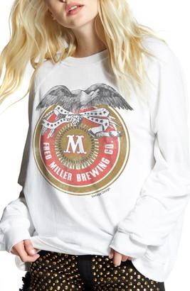 Recycled Karma Miller Emblem Crewneck Sweatshirt