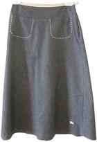 Burberry Blue Denim - Jeans Skirt