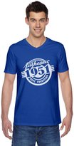 TeeStars - 65th Birthday Gift Authentic 1951 Mint Condition Funny V-Neck T-Shirt