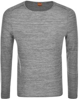 BOSS ORANGE HUGO Akmerso Knit Jumper Grey
