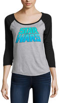 Fifth Sun 3/4 Sleeve Scoop Neck Star Wars Graphic T-Shirt