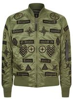 Marcelo Burlon County of Milan Military Bomber Jacket