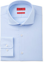 HUGO BOSS HUGO Men's Fitted Blue Stripe Dress Shirt