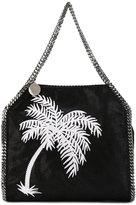 Stella McCartney Falabella Mini Palm Tree Shoulder Bag - women - Polyester - One Size