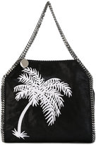 Stella McCartney palm tree embroidered Falabella tote - women - Polyester - One Size