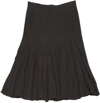 Anne Valerie Hash Black Viscose Skirts